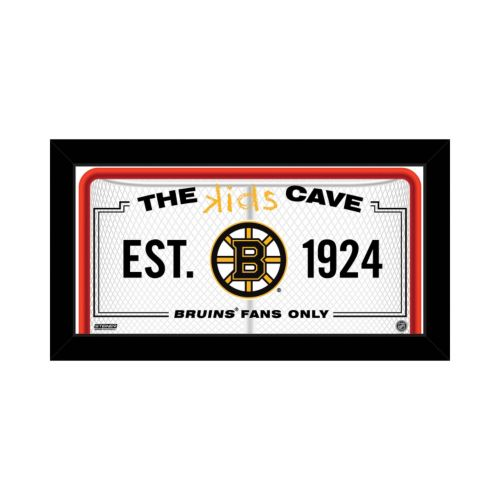 Steiner Sports Boston Bruins 10 x 20 Kids Cave Sign