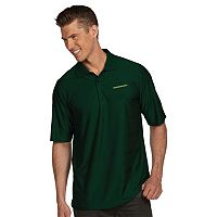Men's Antigua Oregon Ducks Illusion Desert Dry Extra-Lite Performance Polo