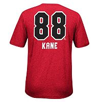 Men's Reebok Chicago Blackhawks Patrick Kane Player Name and Number Tee