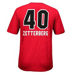 Men's Reebok Detroit Red Wings Henrik Zetterberg Rush Tee