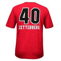 Men's Reebok Detroit Red Wings Henrik Zetterberg Rush Tee