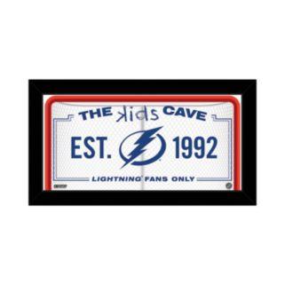 "Steiner Sports Tampa Bay Lightning 10"" x 20"" Kids Cave Sign"