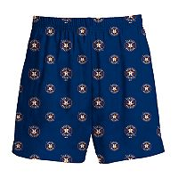Boys 8-20 Majestic Houston Astros Team Logo Lounge Shorts