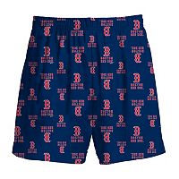 Boys 8-20 Majestic Boston Red Sox Team Logo Lounge Shorts
