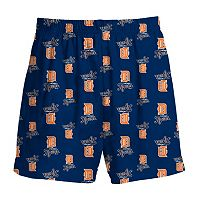 Boys 8-20 Majestic Detroit Tigers Team Logo Lounge Shorts