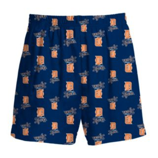 Boys 8-20 Majestic Detroit Tigers Team Logo Lounge Shorts