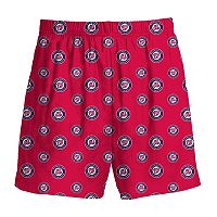 Boys 8-20 Majestic Washington Nationals Team Logo Lounge Shorts
