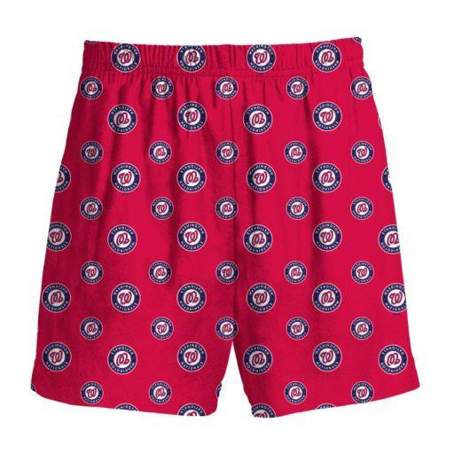 Boys 8-20 Majestic Washington Nationals Team Logo Lounge Shorts