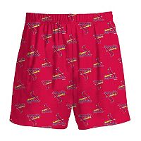 Boys 8-20 Majestic St. Louis Cardinals Team Logo Lounge Shorts