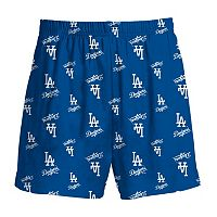 Boys 8-20 Majestic Los Angeles Dodgers Team Logo Lounge Shorts