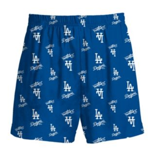 Boys 8-20 Majestic Los Angeles Dodgers Team Logo Lounge Shorts