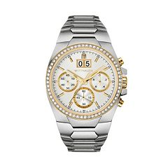 Wittnauer Men's Crystal Stainless Steel Chronograph Watch - WN3047