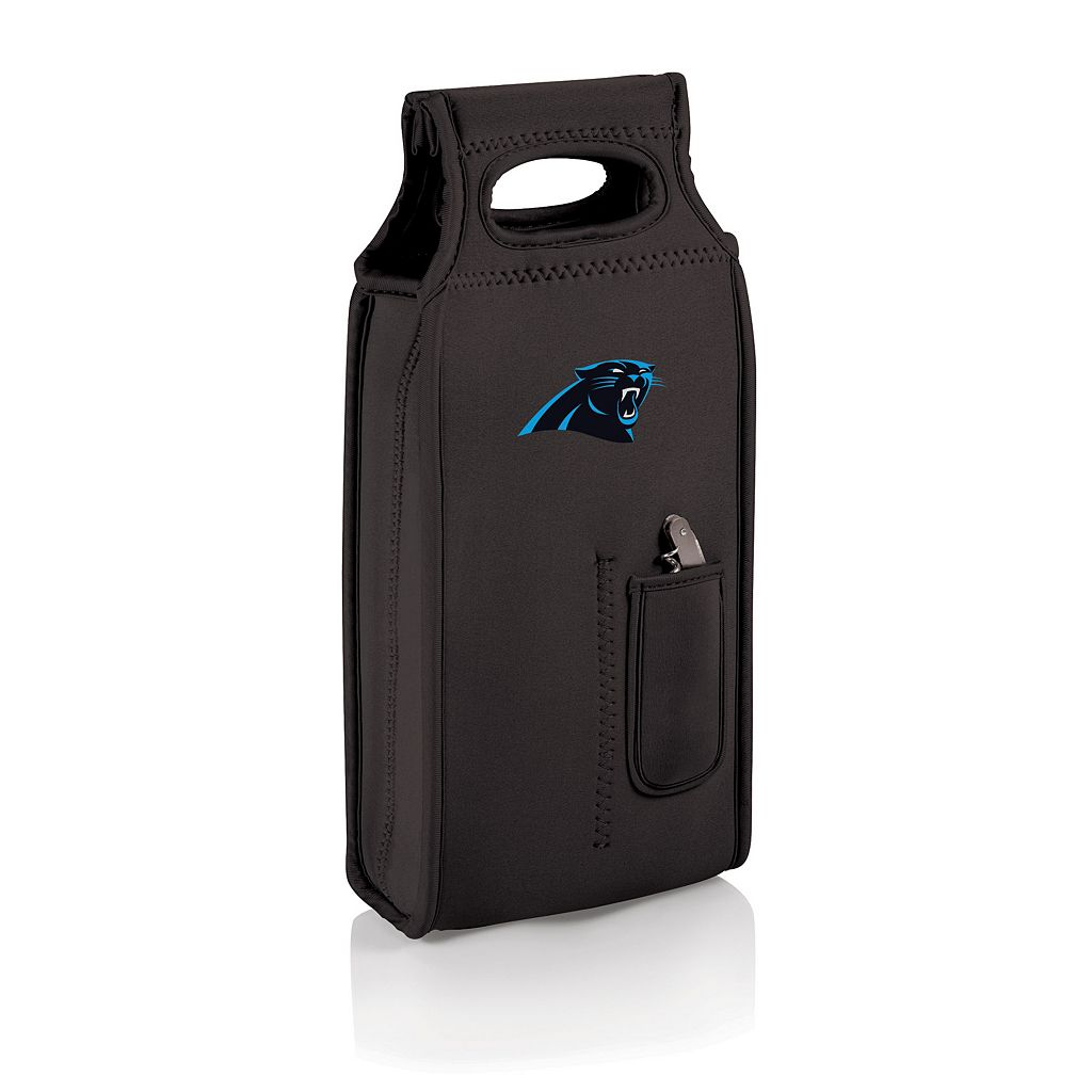 Picnic Time Carolina Panthers Samba 2-Bottle Insulated Wine Tote
