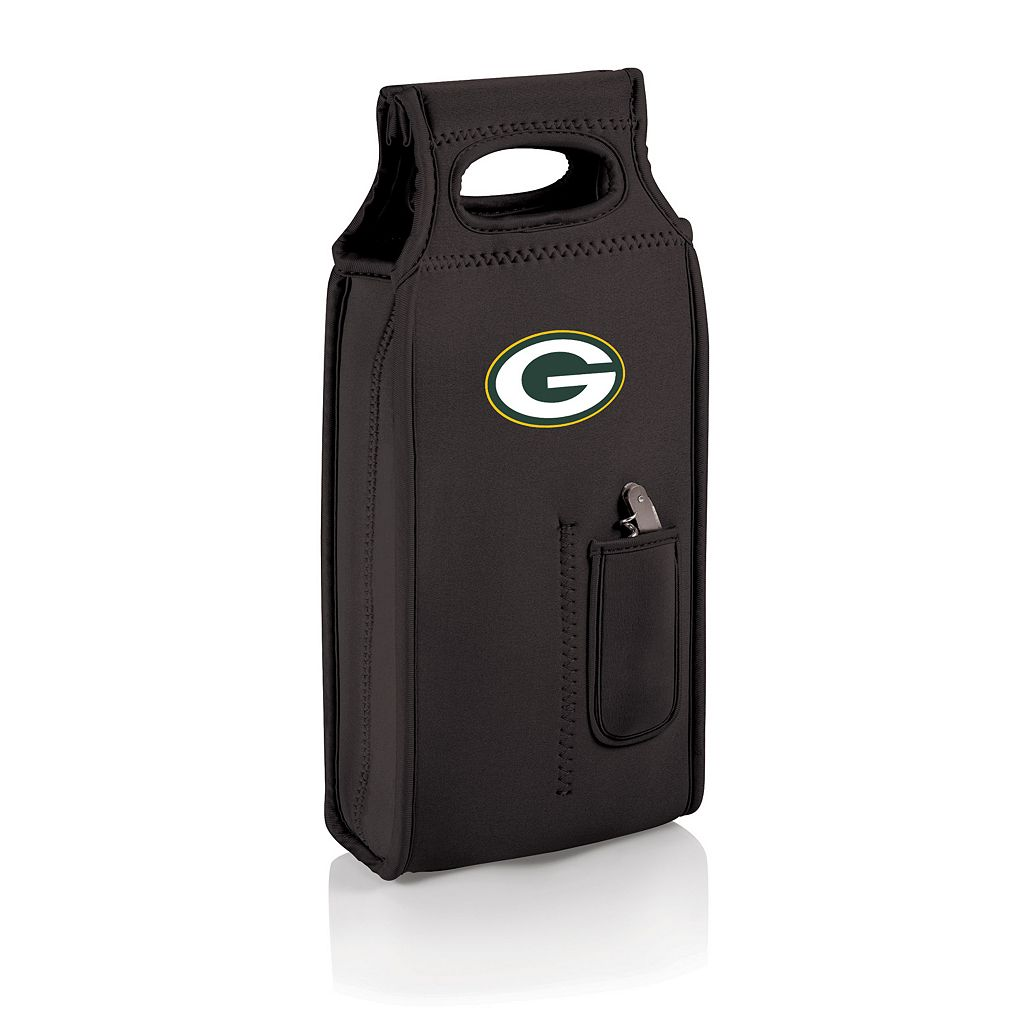 Picnic Time Green Bay Packers Samba 2-Bottle Insulated Wine Tote