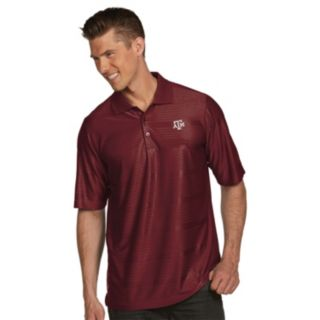 Men's Antigua Texas A&M Aggies Illusion Desert Dry Extra-Lite Performance Polo