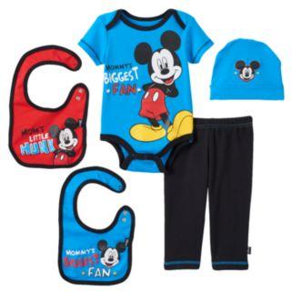 Disney's Mickey Mouse Baby Boy 5-pc. Layette Gift Set