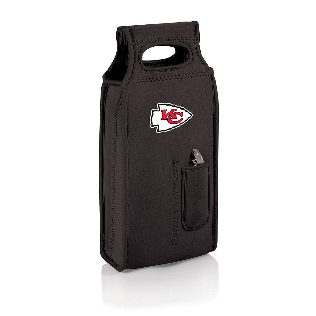Picnic Time Kansas City Chiefs Samba 2-Bottle Insulated Wine Tote