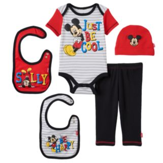 Baby Boy Disney's Mickey Mouse 5-pc. Layette Gift Set