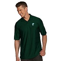 Men's Antigua Tulane Green Wave Illusion Desert Dry Extra-Lite Performance Polo