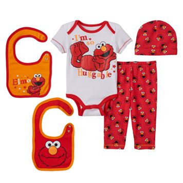 Baby Boy Sesame Street Elmo 5-pc. Layette Gift Set