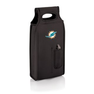 Picnic Time Miami Dolphins Samba 2-Bottle Insulated Wine Tote