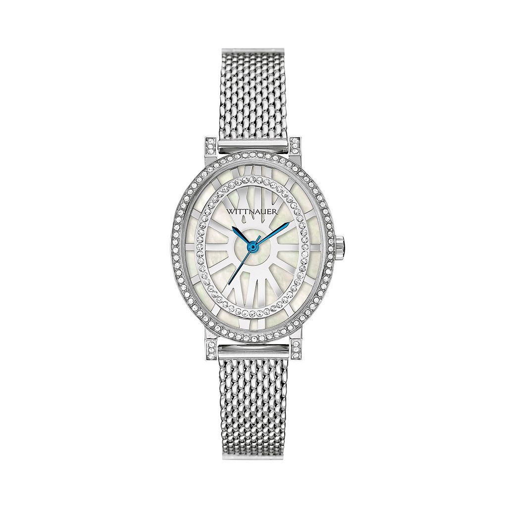 Wittnauer Women's Crystal Stainless Steel Watch - WN4038