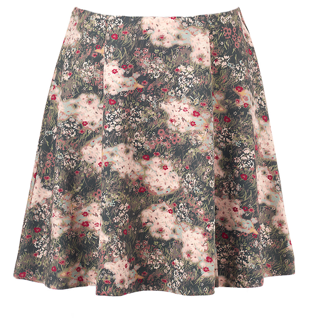 Disney's Bambi a Collection by LC Lauren Conrad Women's Floral Scuba Skirt