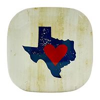 Celebrate Local Life Together Texas 9-in. Square Melamine Salad Plate