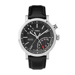 Timex Unisex Metropolitan+ Activity Tracker Leather Watch - TW2P81700ZA
