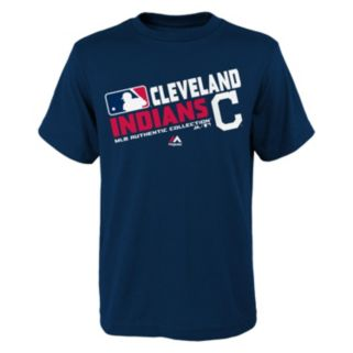 Boys 8-20 Majestic Cleveland Indians AC Team Choice Tee