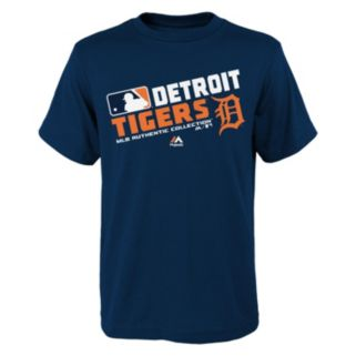 Boys 8-20 Majestic Detroit Tigers AC Team Choice Tee