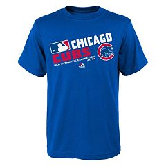 Boys 8-20 Majestic Chicago Cubs AC Team Choice Tee