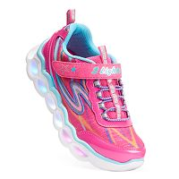 Skechers S Lights Lumos Girls' Light-Up Sneakers