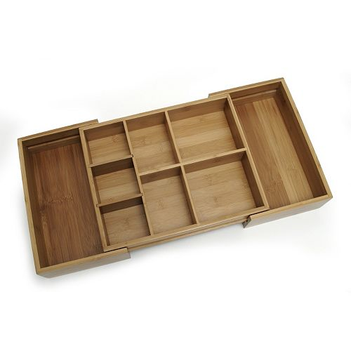 Lipper 9-Slot Expandable Junk Drawer Organizer