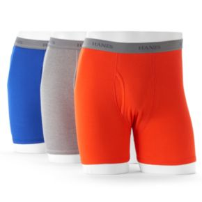 Big & Tall Hanes Ultimate 3-pack Tagless Fashion Boxer Briefs