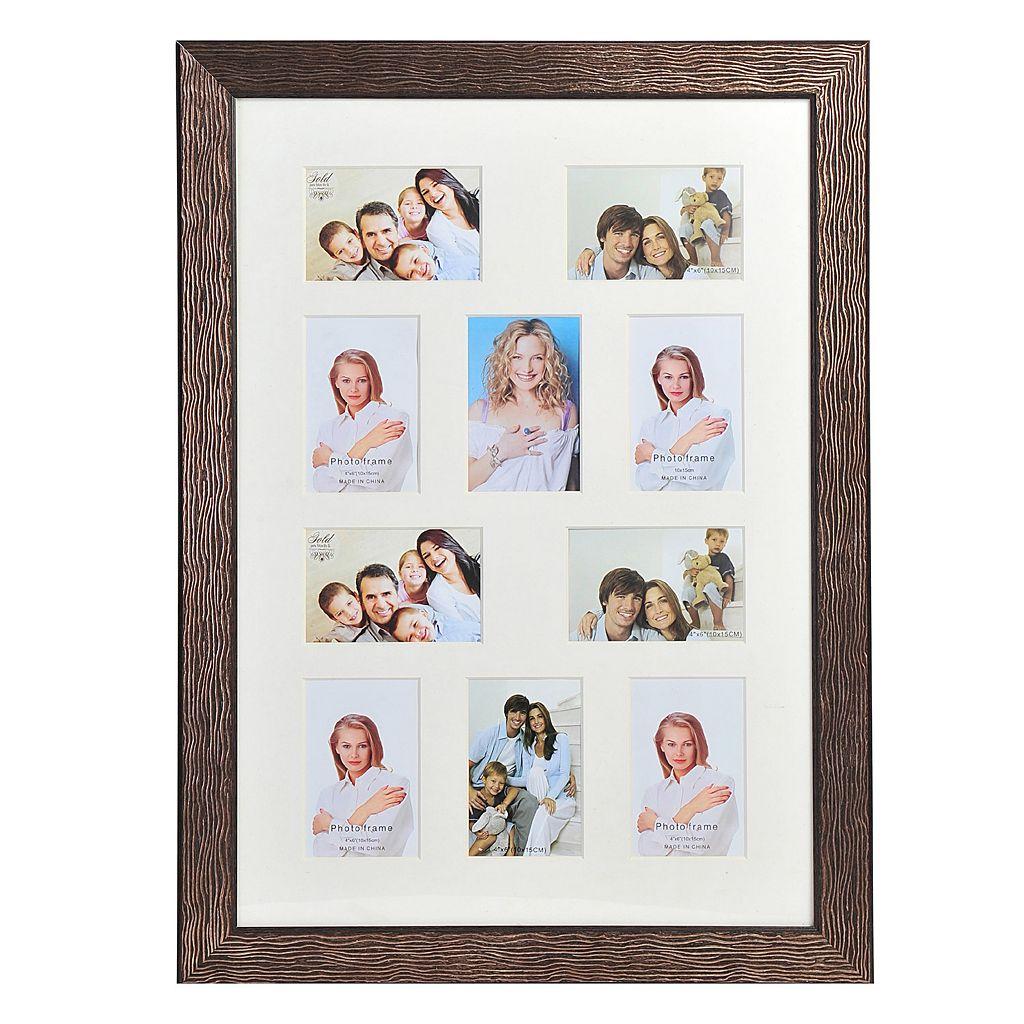 Melannco 10-Opening Portrait Collage Frame