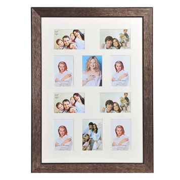 Melannco 10-Opening Portrait Collage Frame