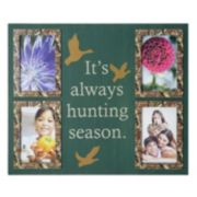 Mossy Oak 4-Opening ''Always Hunting Season'' Collage Frame