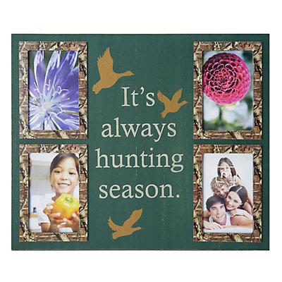 Mossy Oak 4-Opening ''Always Hunting Season'' Collage Frame