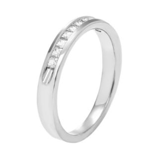 14k White Gold 1/3 Carat T.W. Diamond Anniversary Ring