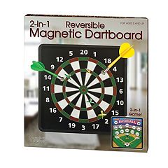 2-in-1 Reversible Magnetic Dartboard by Westminster Inc.