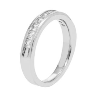 14k White Gold 3/4 Carat T.W. Diamond Anniversary Ring