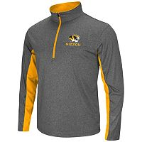 Big & Tall Campus Heritage Missouri Tigers Stinger 1/2-Zip Pullover