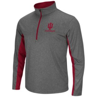 Big & Tall Campus Heritage Indiana Hoosiers Stinger 1/2-Zip Pullover
