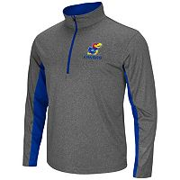 Big & Tall Campus Heritage Kansas Jayhawks Stinger 1/2-Zip Pullover