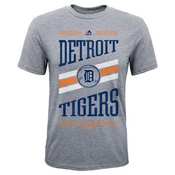 Boys 8-20 Majestic Detroit Tigers Team Patriot Tee