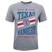 Boys 8-20 Majestic Texas Rangers Team Patriot Tee