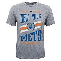 Boys 8-20 Majestic New York Mets Team Patriot Tee