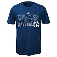 Boys 8-20 Majestic New York Yankees Geo Plex Cool Base Tee