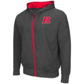 Big & Tall Campus Heritage Rutgers Scarlet Knights Renegade II Full-Zip Hoodie